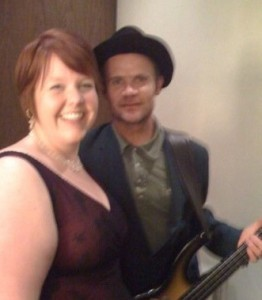 Me and Flea!